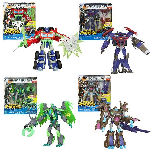Transformers Prime Beast Hunter Voyager Figure Wave 4 Rev. 3