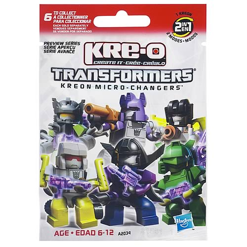 Kre-O Transformers Minifigures Series 1 8-Pack