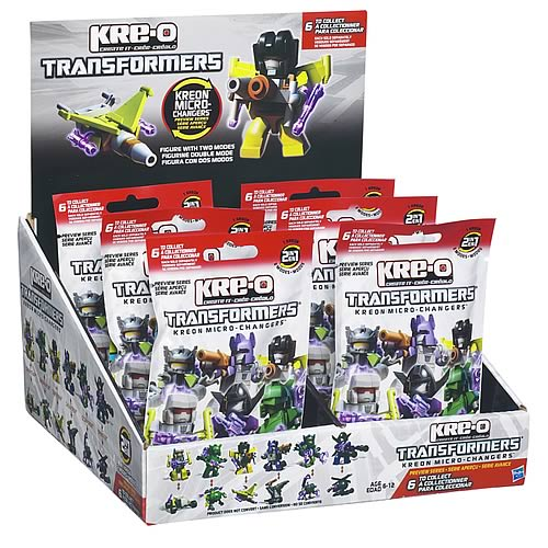 Kre-O Transformers Mini-Figures Series 1 Case