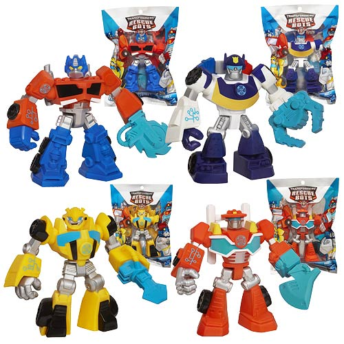 Transformers Rescue Bots Single Mini-Figures Wave 1