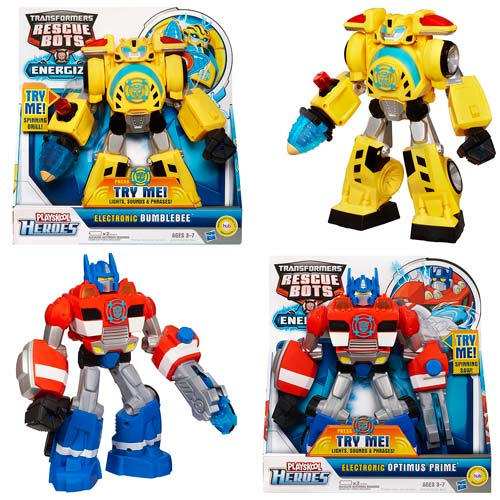 Transformers Electronic Rescue Bots 2013 Wave 1