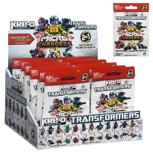 Kre-O Transformers 2013 Mini-Figures Series 1 Case