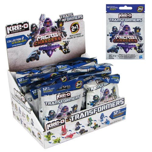 Kre-O Transformers 2013 Mini-Figures Series 2 Case