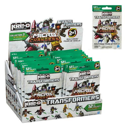 Kre-O Transformers 2013 Mini-Figures Series 3 Case