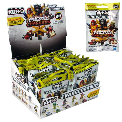 Kre-O Transformers 2013 Mini-Figures Series 4 Case
