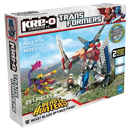 Kre-o Transformers Beast Blade of Optimus Prime