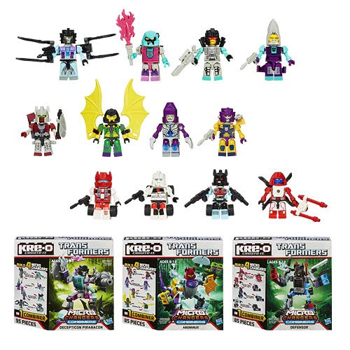 Kre-o Transformers Changer Combiners Wave 2