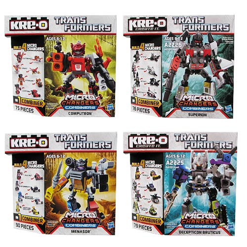 Kre-o Transformers Changer Combiners Wave 3