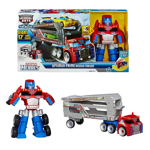 Playskool Heroes Transformers Rescue Bots Optimus Prime