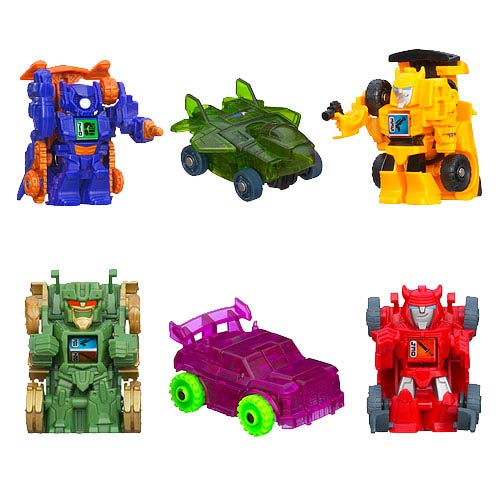 Transformers Bot Shots 3-Packs 2013 Wave 1 Set