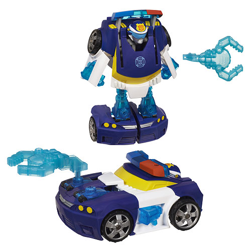 Transformers Rescue Bots Energize Chase the Police Bot