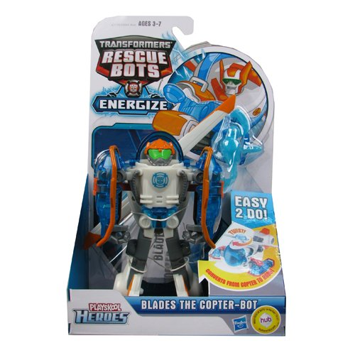 Transformers Rescue Bots Energize Blades the Copter-Bot