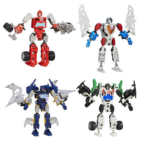 Transformers Construct-Bots Elite Wave 1 Set