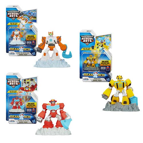 Transformers Rescue Bots Beam Box Action Figures Wave 2