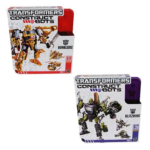 Transformers Construct-Bots Triple Changers Wave 1