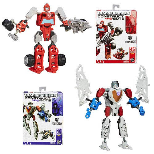 Transformers Construct-Bots Scout Wave 1 Set