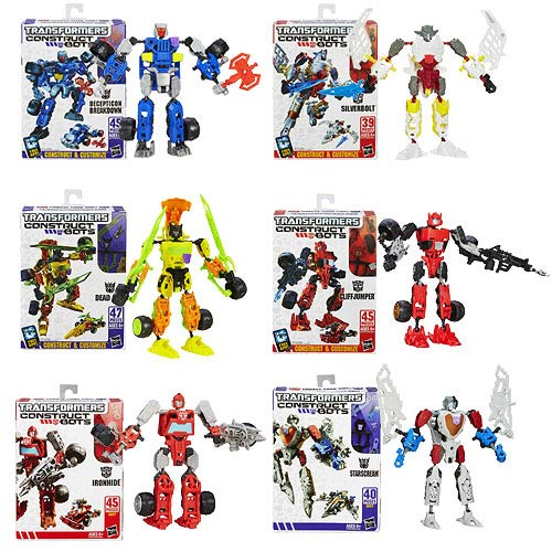 Transformers Construct-Bots Scout Wave 3 Set