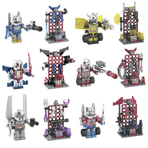 Kre-O Transformers Custom Kreon Mini-Figures Wave 1