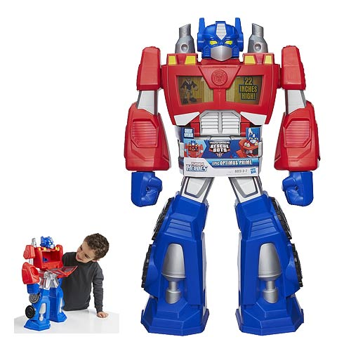 Transformers Rescue Bots Epic Optimus Prime Action Figure