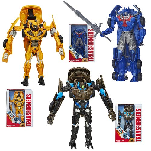 Transformers Age of Extinction Flip N Change Wave 2