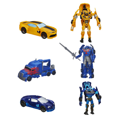 Transformers Age of Extinction Flip N Change Wave 3 Rev. 2