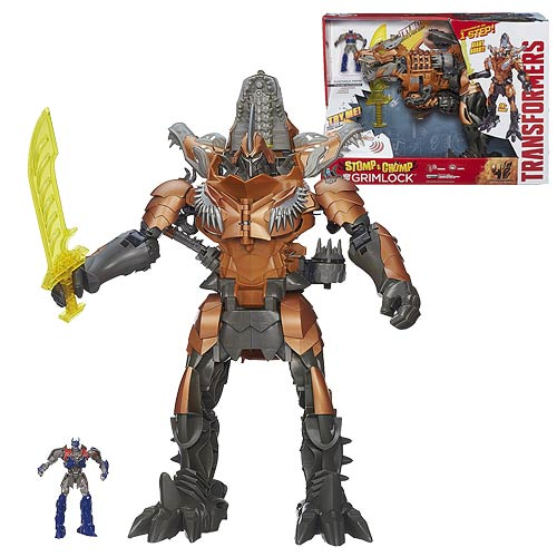 Transformers Age of Extinction Chomp and Stomp Grimlock