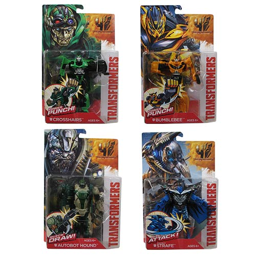 Transformers Age of Extinction Power Battlers Wave 1 Set