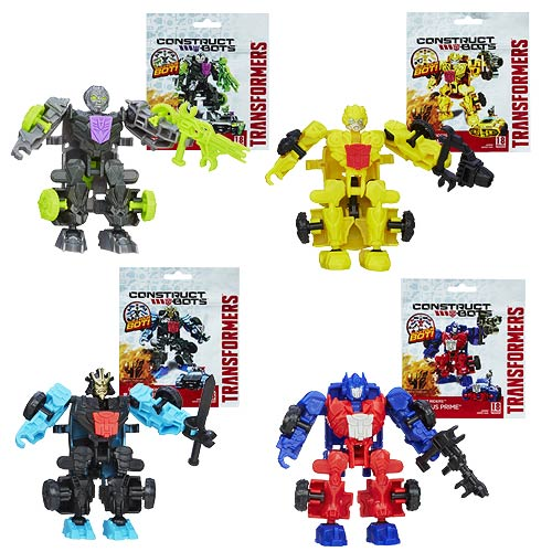 Transformers Age of Extinction Asst. 1 Construct Bots Set