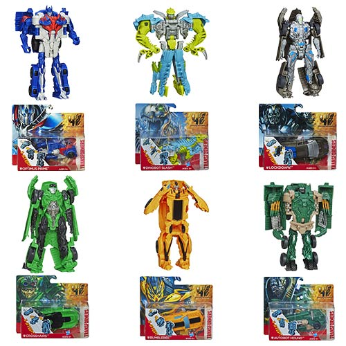 Transformers Age of Extinction One-Step Changers Wave 2 Rev1