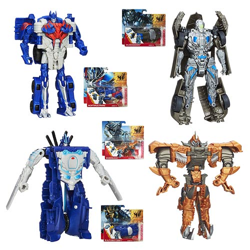 Transformers Age of Extinction One-Step Changers Wave 2 Rev2