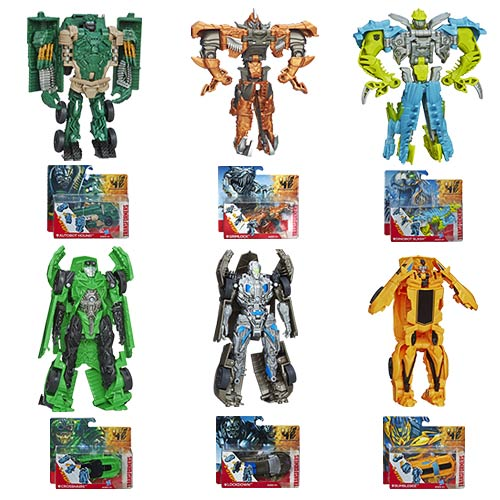 Transformers Age of Extinction One-Step Changers Wave 2 Set