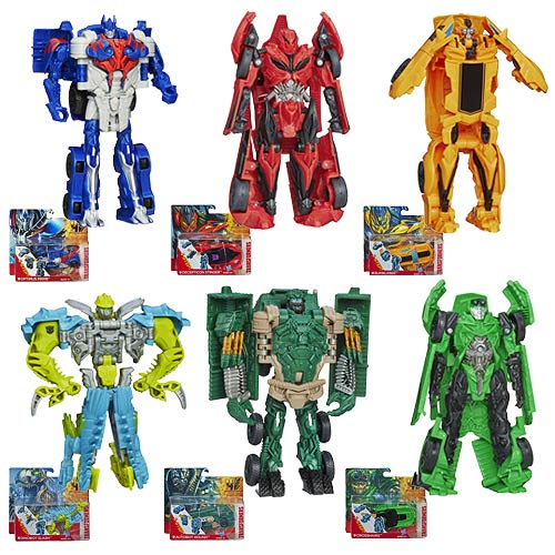 Transformers Age of Extinction One-Step Changers Wave 3 Set