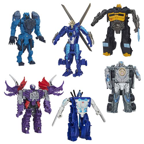 Transformers Age of Extinction One-Step Changers Wave 4 Set