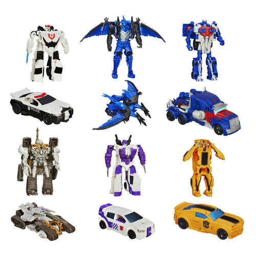 Transformers Age of Extinction One-Step Changers Wave 5 Case