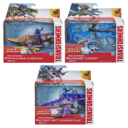 Transformers Age of Extinction Sparkers Wave 1 Set