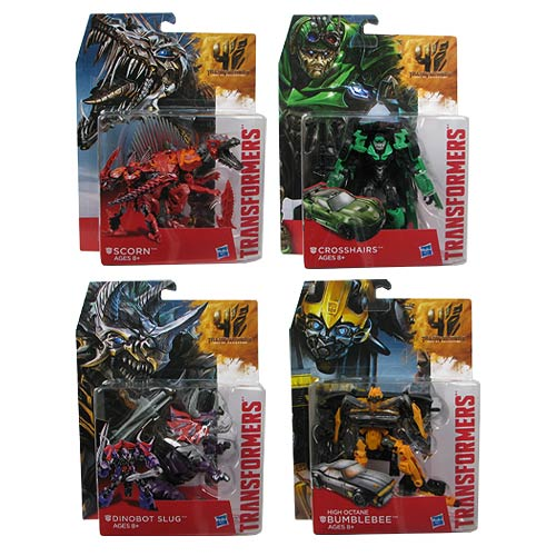 Transformers Age of Extinction Generations Deluxe Wave 1 Set