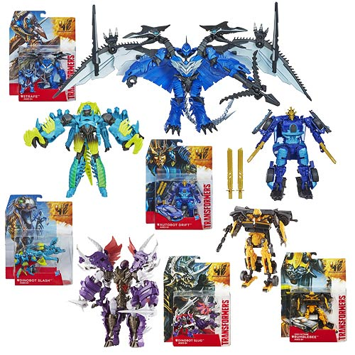 Transformers Age of Extinction Generations Deluxe Wave 2R1