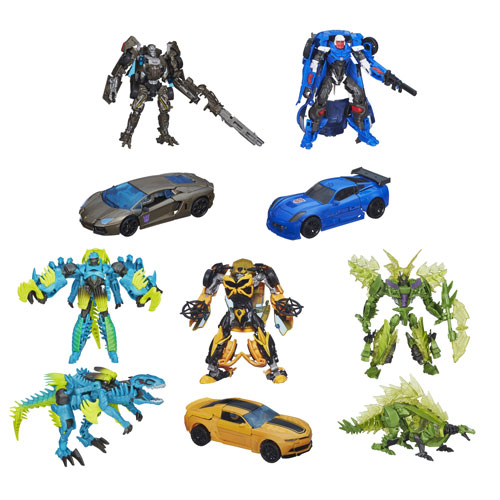 Transformers Age of Extinction Generations Deluxe Wave 3R1