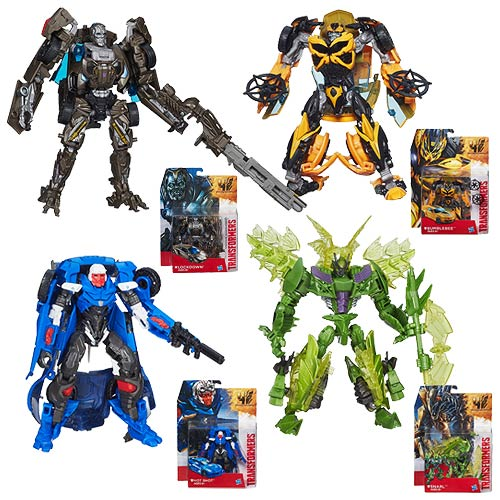 Transformers Age of Extinction Generations Deluxe Wave 3 Set