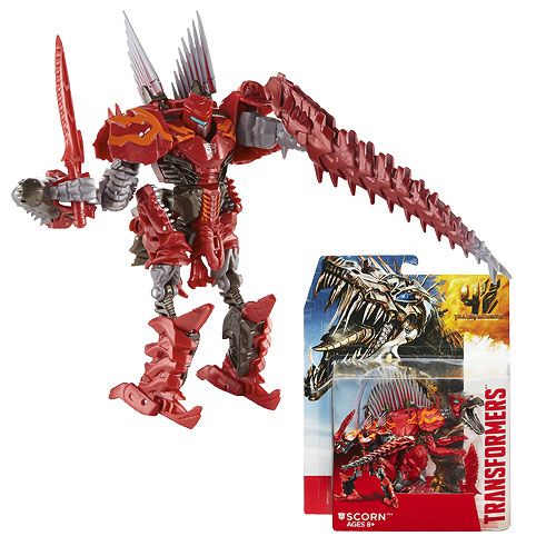 Transformers Age of Extinction Generations Dinobot Scorn