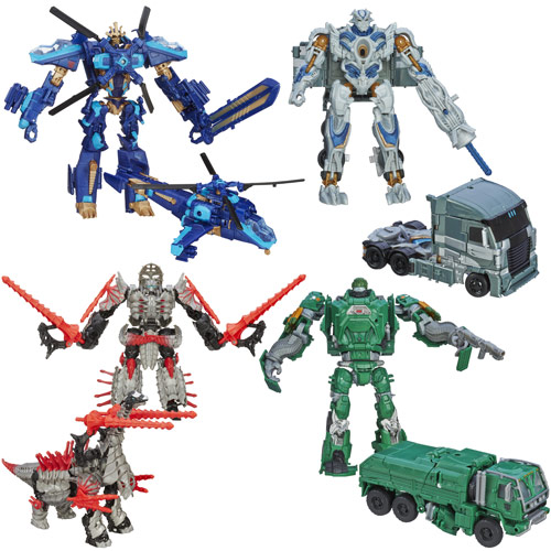Transformers Age of Extinction Generations Voyager Wave 3R1