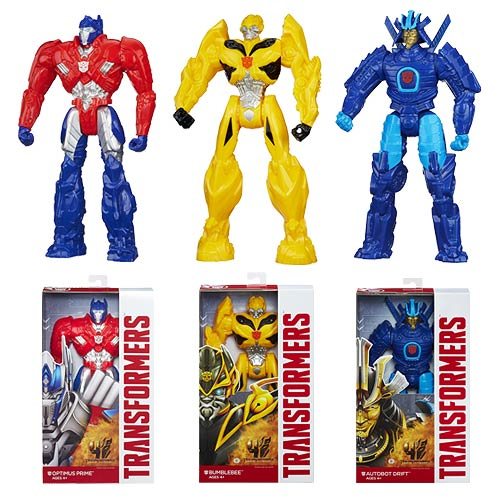 Transformers Age of Extinction Titan Heroes Wave 1 Set