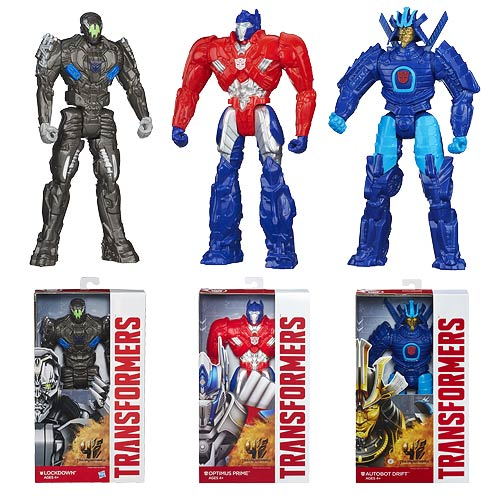 Transformers Age of Extinction Titan Heroes Wave 2 Case