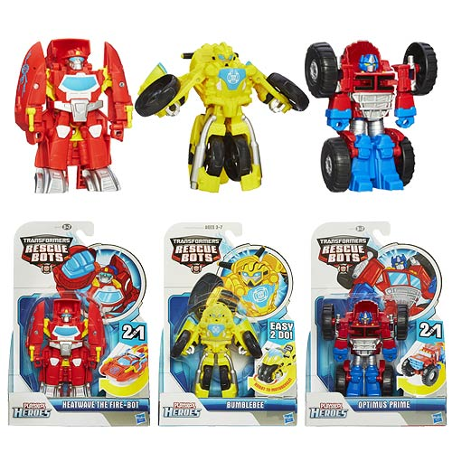 Transformers Rescue Bots Rescan Figures Wave 1 Set