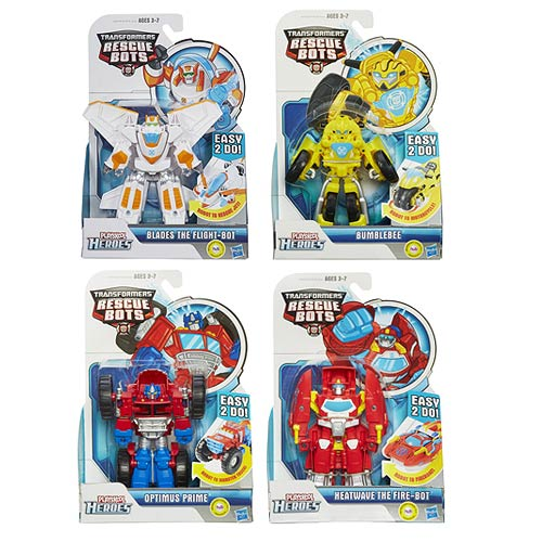 Transformers Rescue Bots Rescan Figures Wave 2