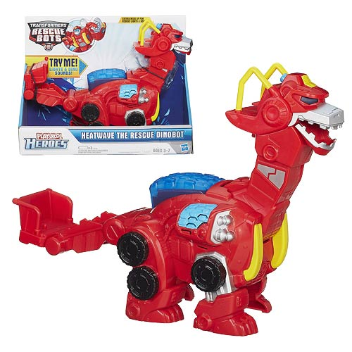 Transformers Robot Heroes Heatwave the Rescue Dinobot