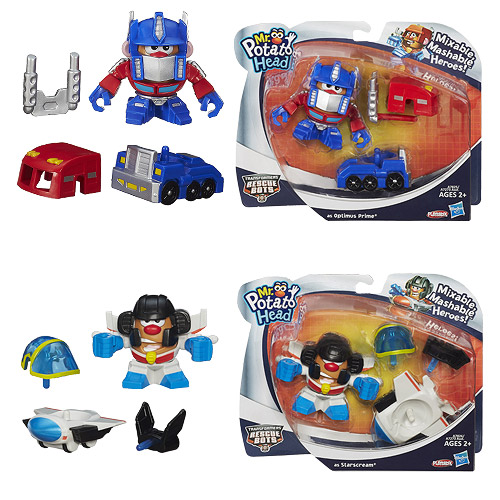 Transformers Mr. Potato Heads Wave 1 Set
