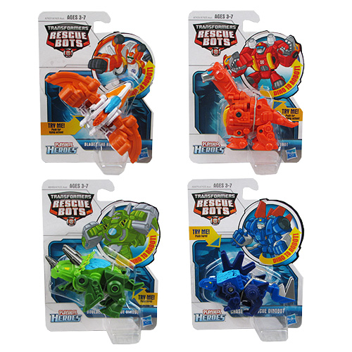 Transformers Rescue Bots Mini Dino Figures Wave 2