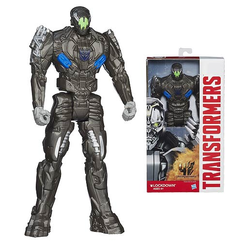 Transformers Age of Extinction Titan Heroes Lockdown Figure
