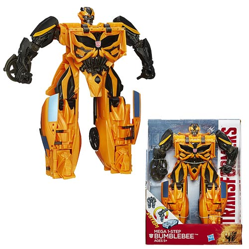 Transformers Age of Extinction Mega Flip One-Step Bumblebee